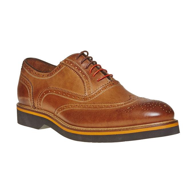 Chaussure Oxford marron bata-the-shoemaker, Jaune, 824-8776 - 13