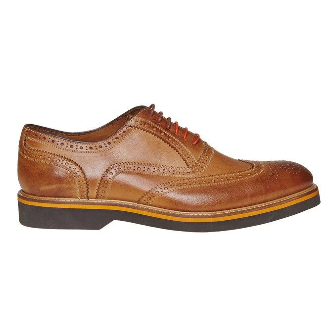 Chaussure Oxford marron bata-the-shoemaker, Jaune, 824-8776 - 15