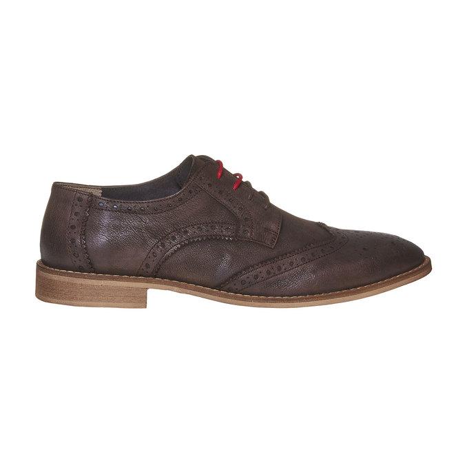 Chaussure en cuir homme bata, Brun, 824-4286 - 15