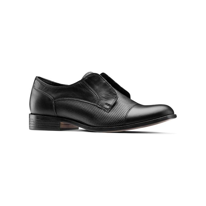 Chaussure en cuir pour femme bata, Noir, 514-6267 - 13
