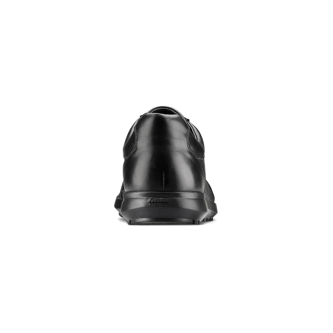 Basket en cuir homme flexible, Noir, 844-6709 - 15