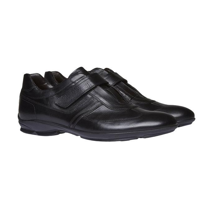 Basket en cuir pour homme bata, Noir, 814-6989 - 26