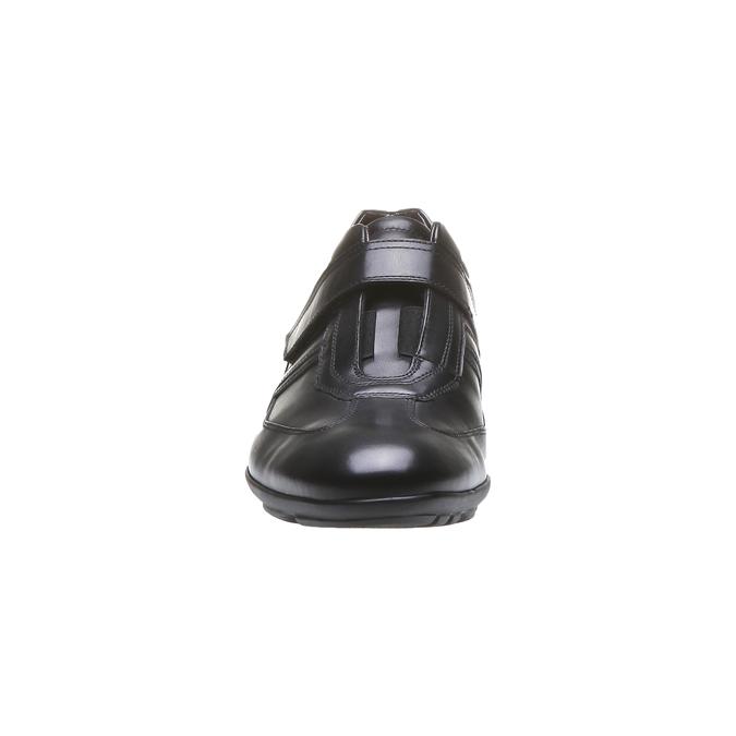 Basket en cuir pour homme bata, Noir, 814-6989 - 16