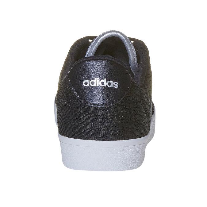 Tennis noire pour femme avec dentelle adidas, Noir, 509-6195 - 17