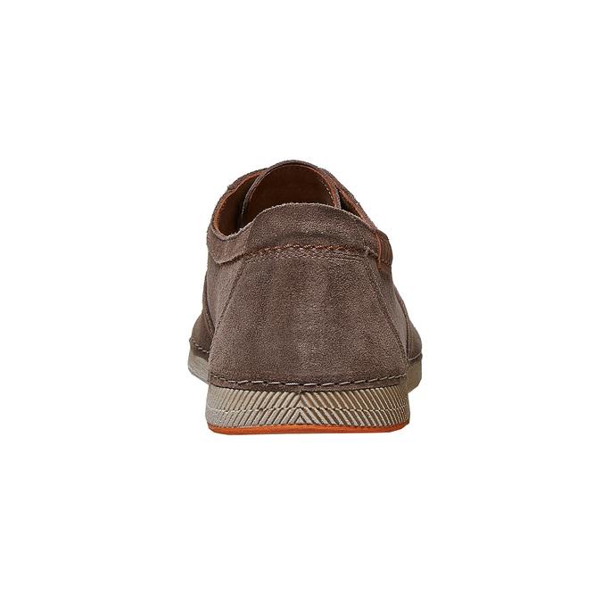 Chaussure lacée décontractée en cuir weinbrenner, Brun, 843-4414 - 17