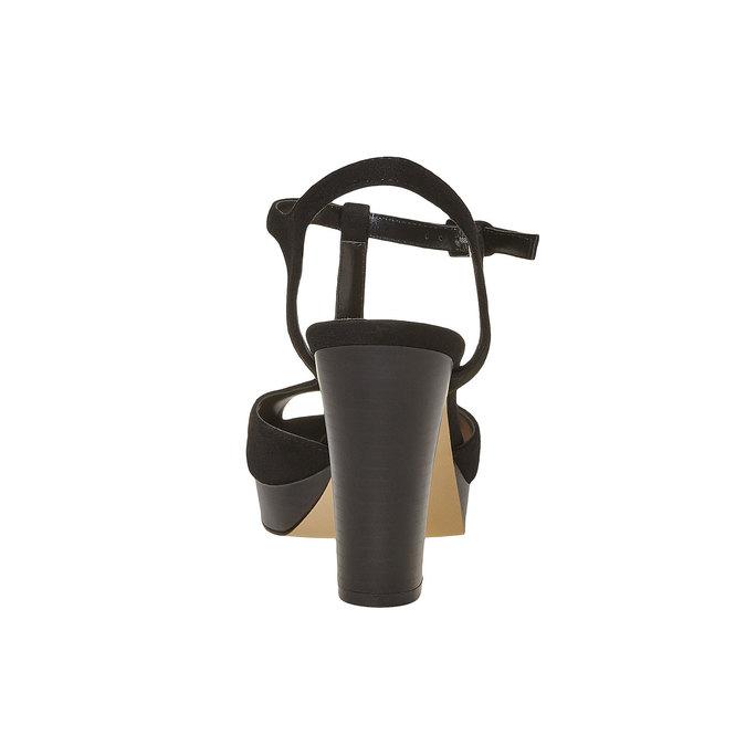 Sandale à talon femme insolia, Noir, 769-6737 - 17