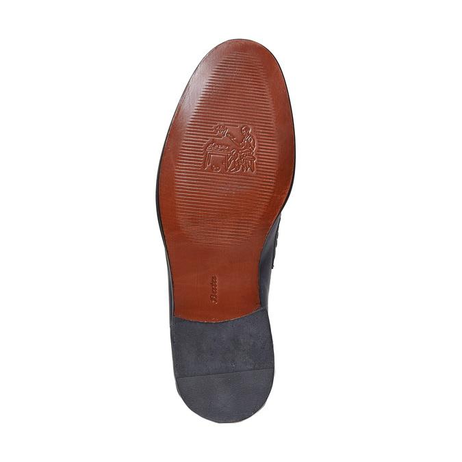 Penny Loafer en cuir bata-the-shoemaker, Violet, 814-9160 - 26