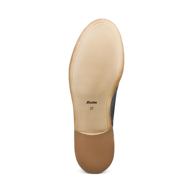 Chaussure Oxford en cuir femme bata, Noir, 524-6482 - 19