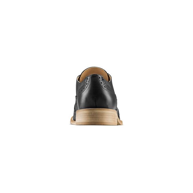 Chaussure Oxford en cuir femme bata, Noir, 524-6482 - 15