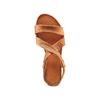 Sandale en cuir pour femme bata, Brun, 564-3443 - 17
