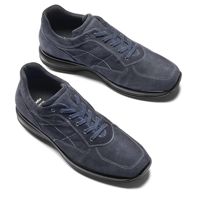 Men's shoes bata, Violet, 843-9315 - 19