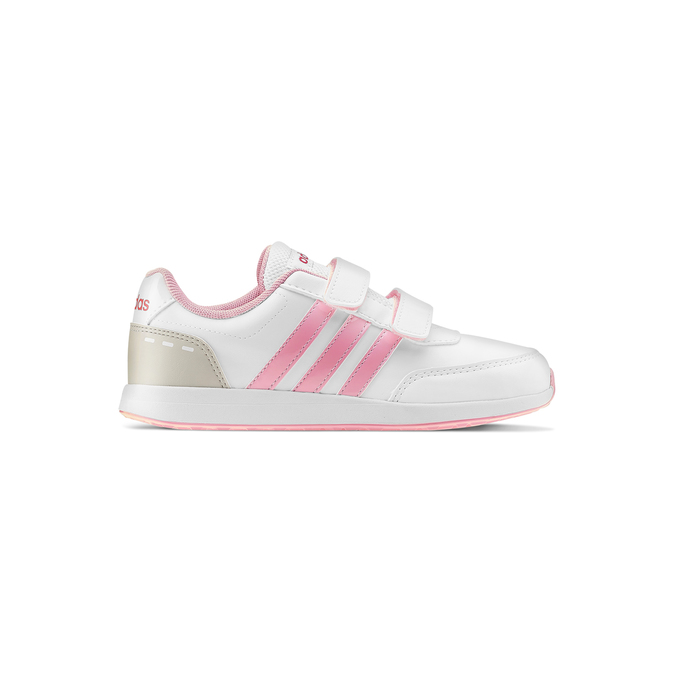 Childrens shoes adidas, Blanc, 309-1189 - 26