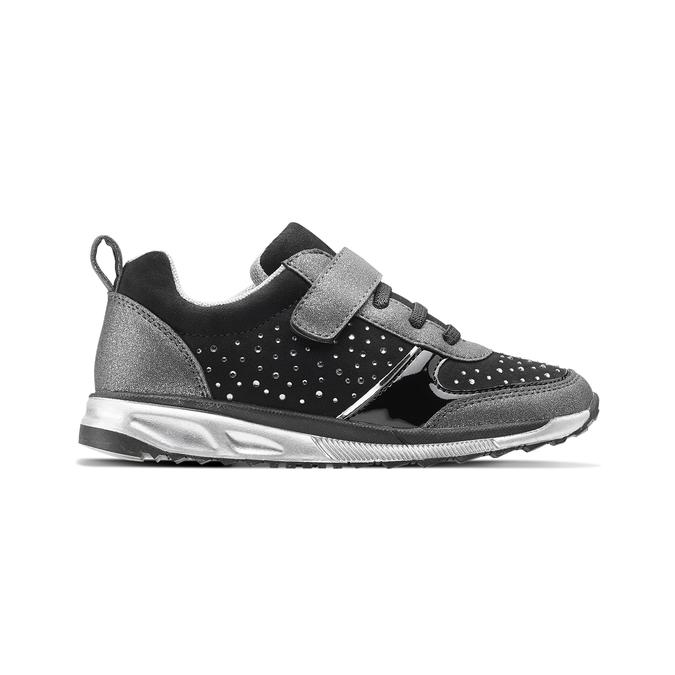 Childrens shoes mini-b, Noir, 329-6295 - 26