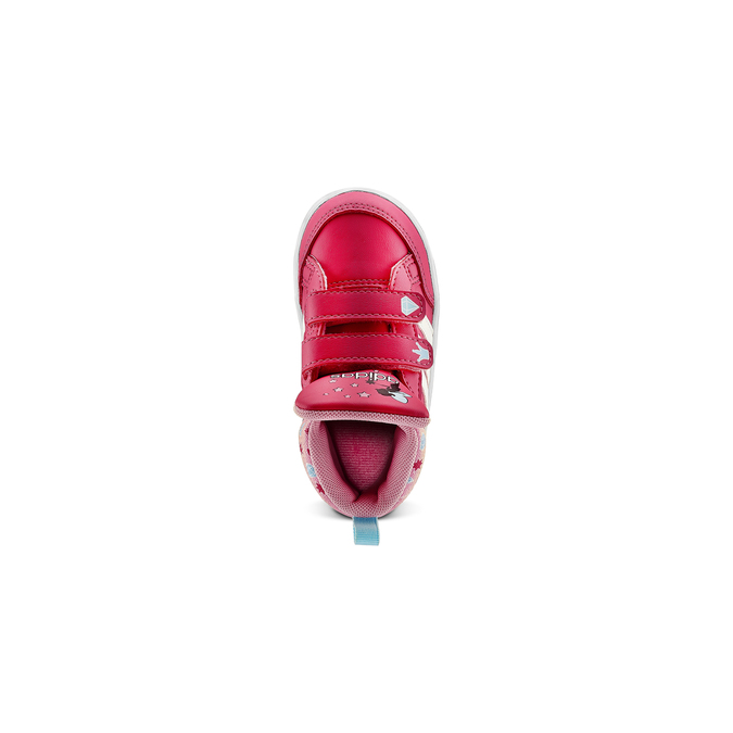 Basket montante fille adidas, Rouge, 101-5292 - 15