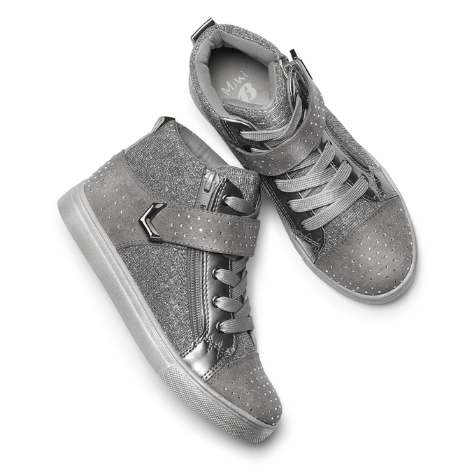 Childrens shoes mini-b, Gris, 329-2303 - 19