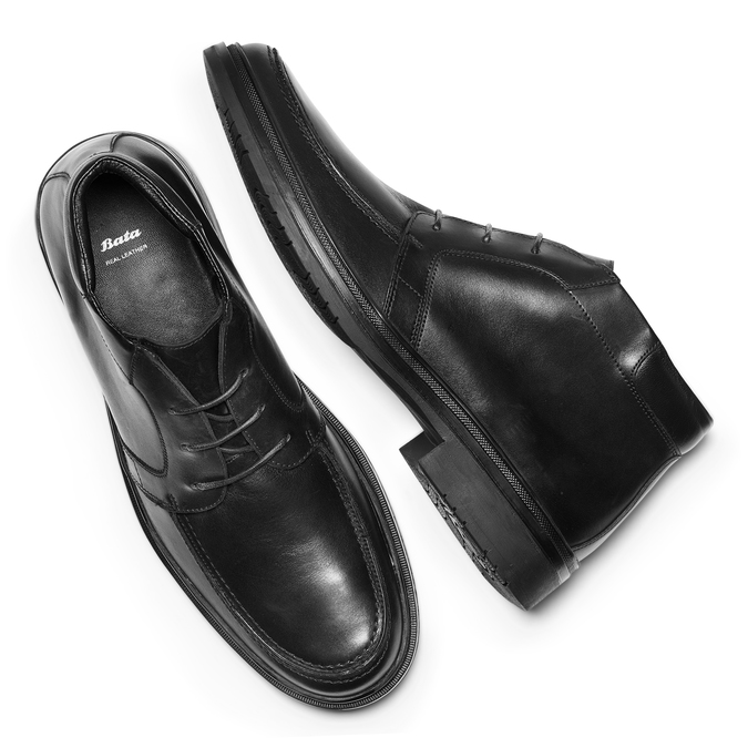Men's shoes, Noir, 844-6733 - 19
