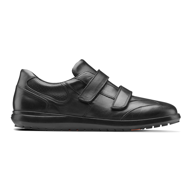 Men's shoes flexible, Noir, 844-6110 - 26