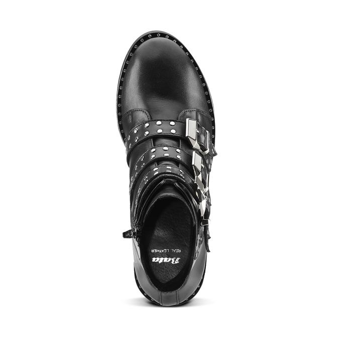 Women's shoes bata, Noir, 594-6192 - 15