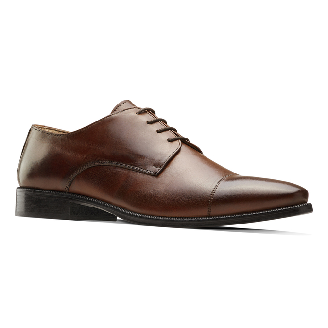 Men's shoes bata-the-shoemaker, Brun, 824-4184 - 13