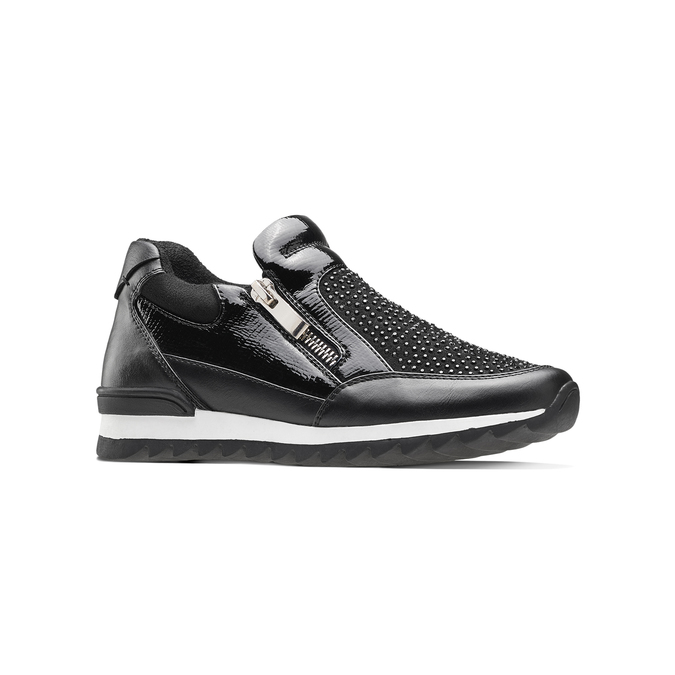 Childrens shoes mini-b, Noir, 329-6297 - 13