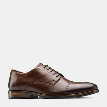 Men's shoes bata, Brun, 824-4999 - 13