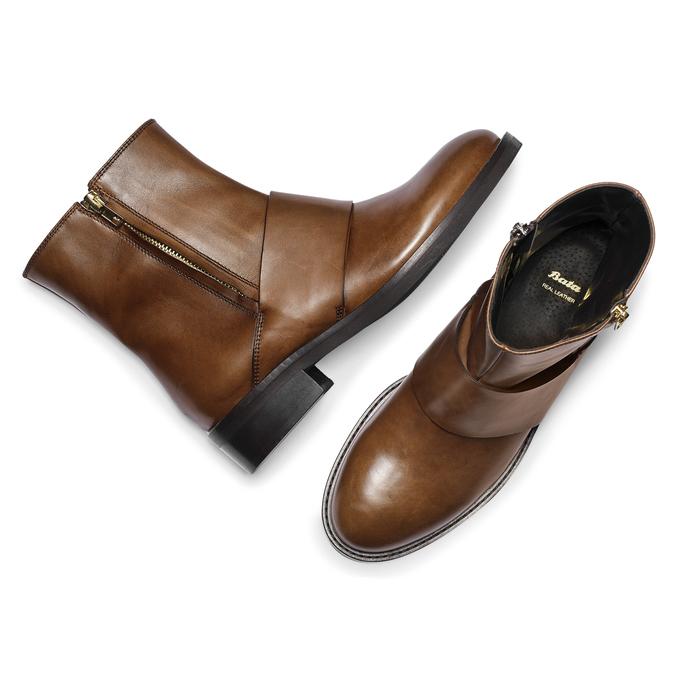 Women's shoes bata, Brun, 594-3330 - 19