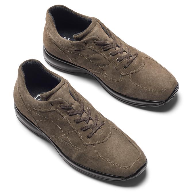 Men's shoes bata, Brun, 843-3315 - 19