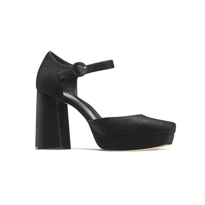 Women's shoes insolia, Noir, 729-6971 - 13