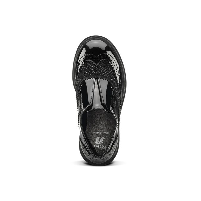 Childrens shoes mini-b, Noir, 221-6201 - 15