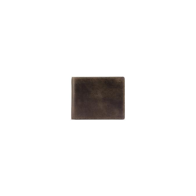 Portefeuille en cuir pour homme bata, Brun, 944-4135 - 26