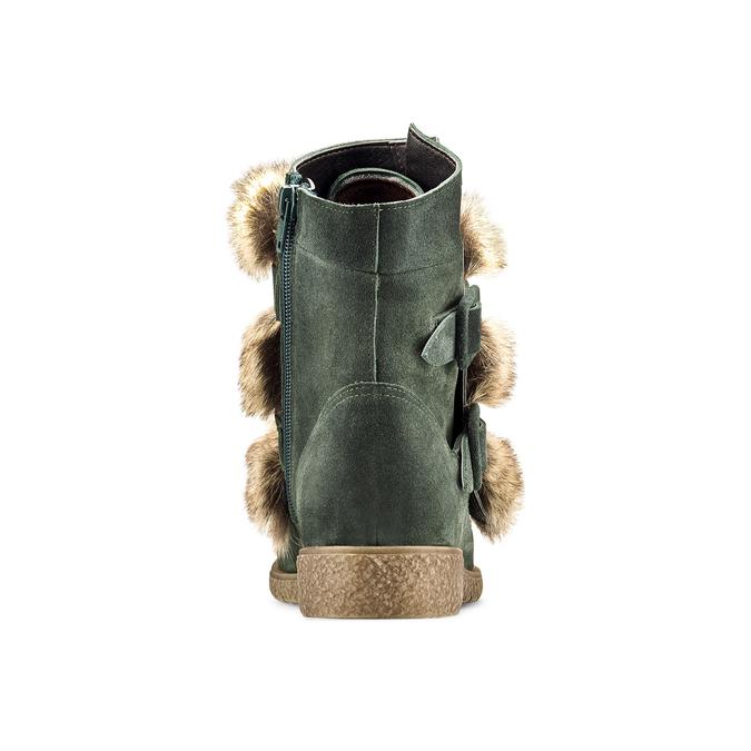 Women's shoes bata, Vert, 593-7442 - 16