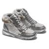 Childrens shoes mini-b, Gris, 329-2287 - 19