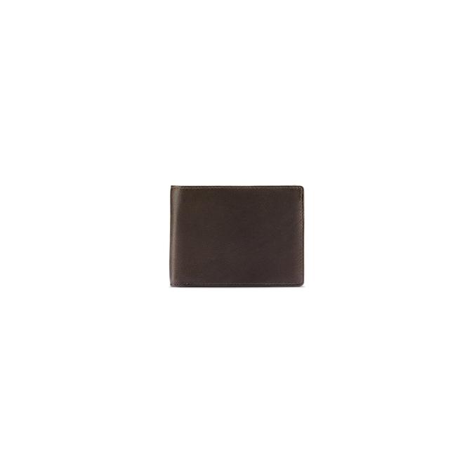 Portefeuille en cuir pour homme bata, Brun, 944-4124 - 26