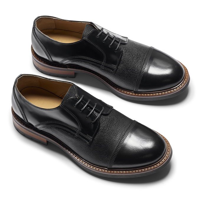 Men's shoes bata-the-shoemaker, Noir, 824-6187 - 19