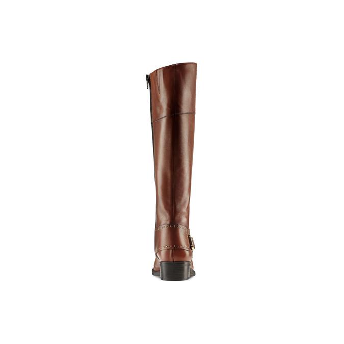 Women's shoes bata, Brun, 594-3427 - 26
