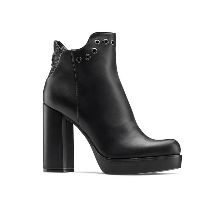 Women's shoes bata, Noir, 791-6658 - 13