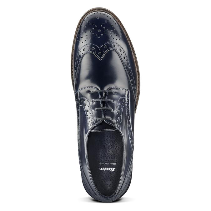 Men's shoes bata, Violet, 824-9231 - 15