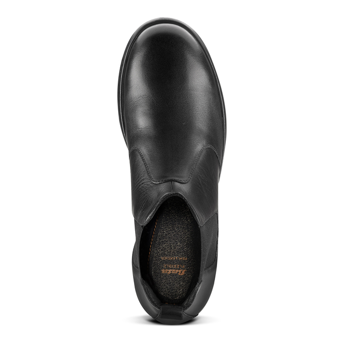 Men's shoes flexible, Noir, 844-6117 - 15