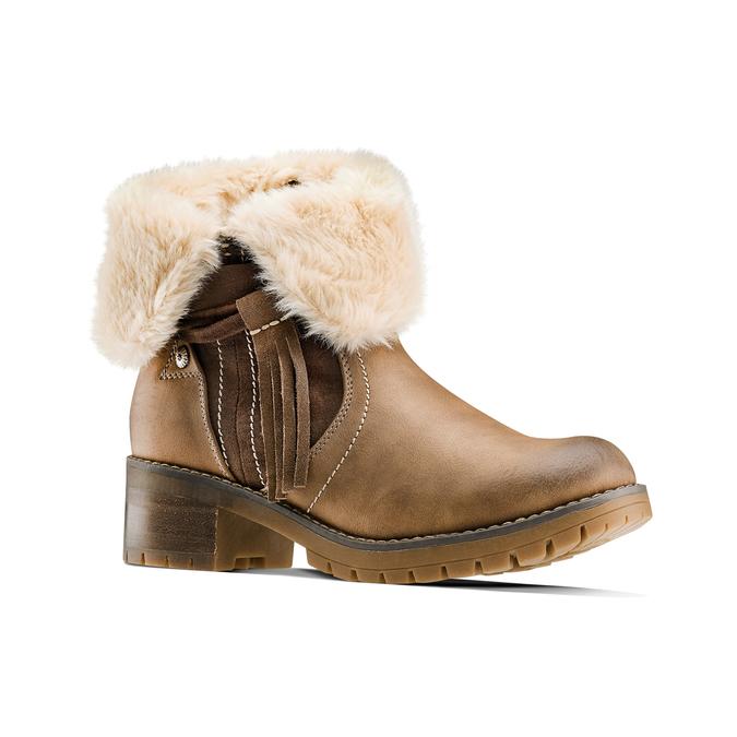 Women's shoes bata, Gris, 691-2429 - 13