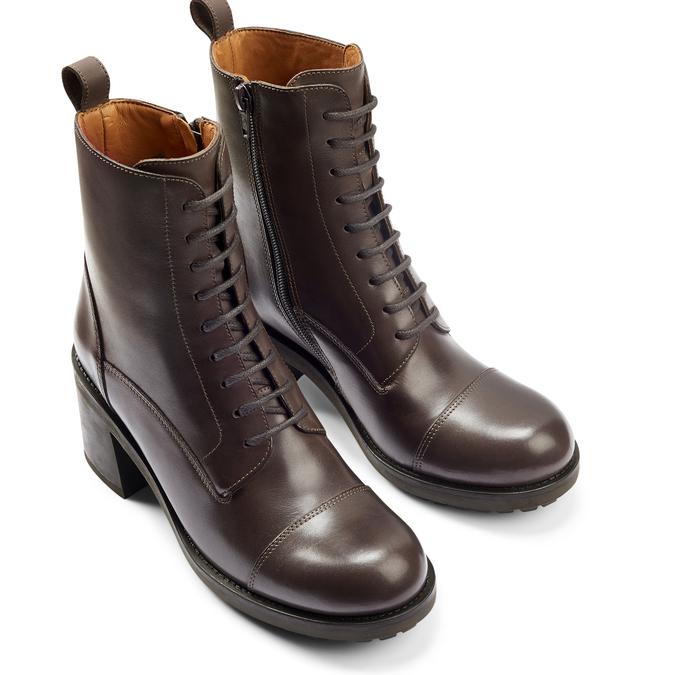Women's shoes bata, Brun, 794-3706 - 19