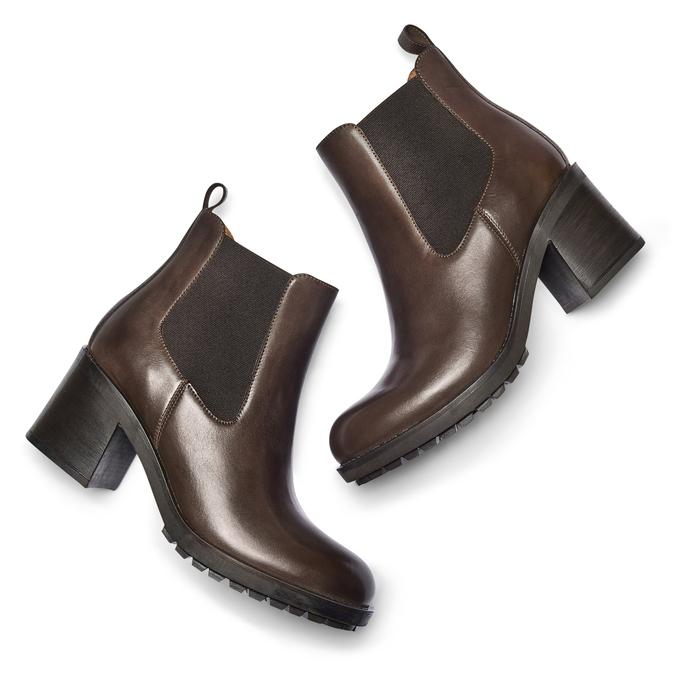 BATA Chaussures Femme bata, Brun, 794-3707 - 19