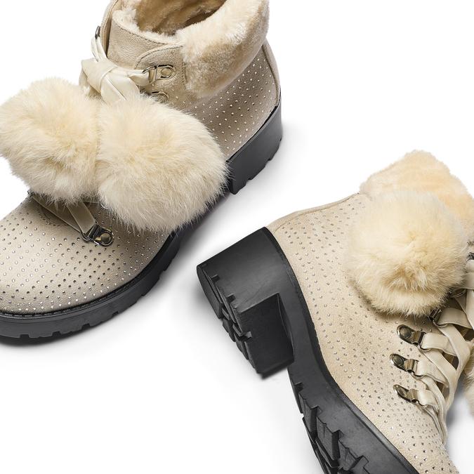 BATA Chaussures Femme bata, Jaune, 699-8119 - 19