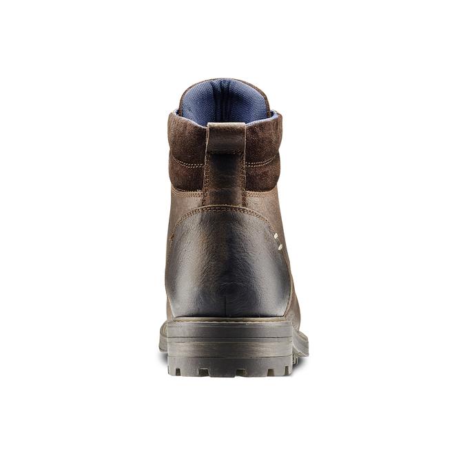 Men's shoes bata, Brun, 894-4136 - 16
