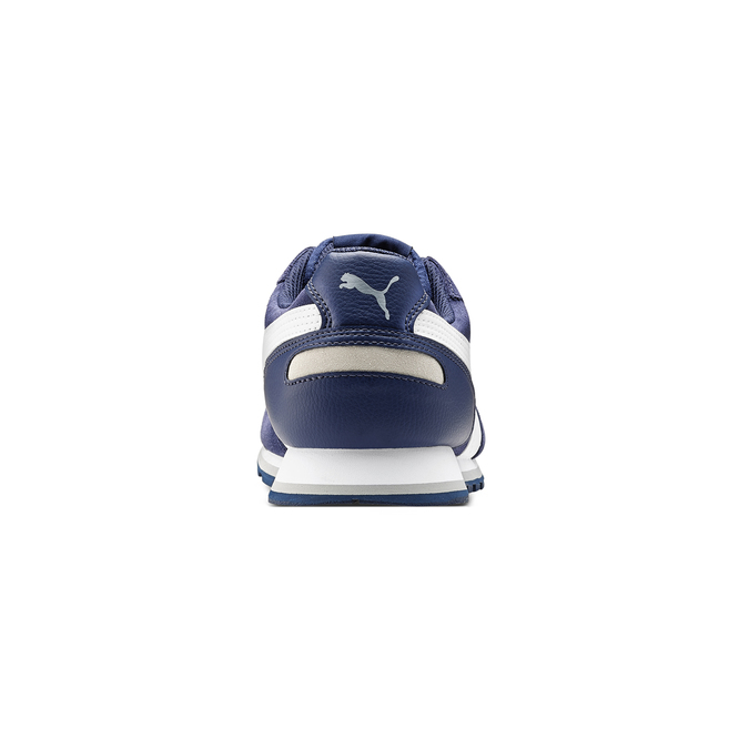 Childrens shoes puma, Bleu, 803-9982 - 16