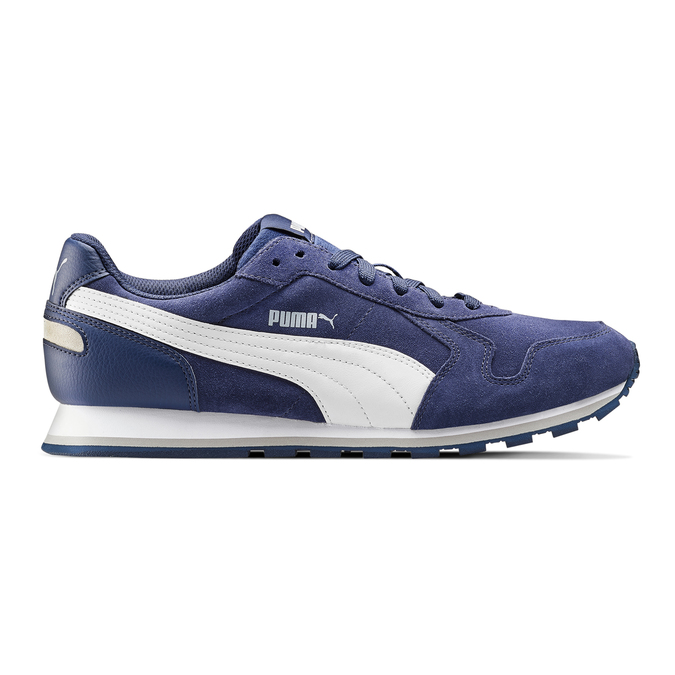 Childrens shoes puma, Bleu, 803-9982 - 26