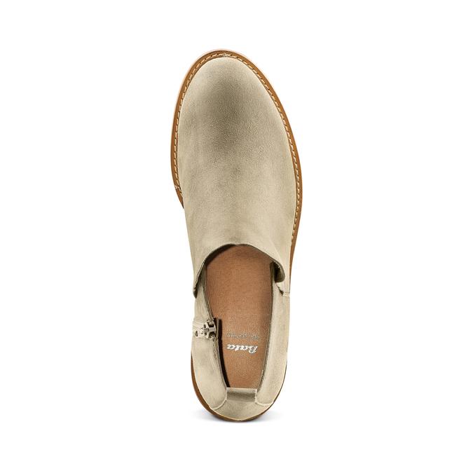 Women's shoes bata, Vert, 593-7703 - 17