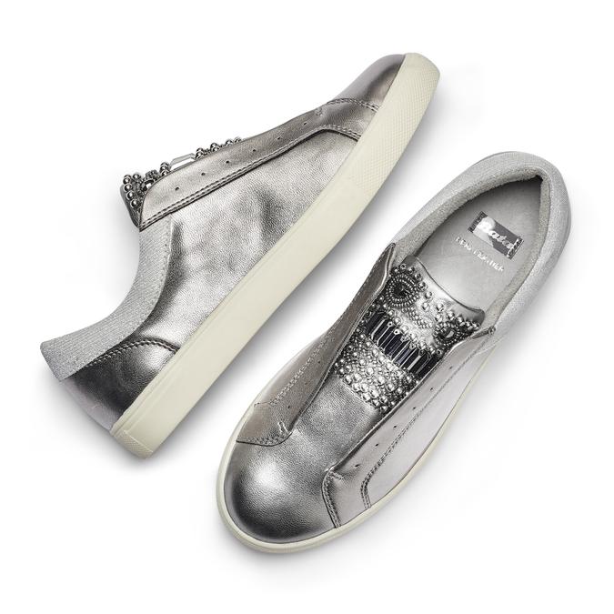 Women's shoes bata, Gris, 541-2163 - 26