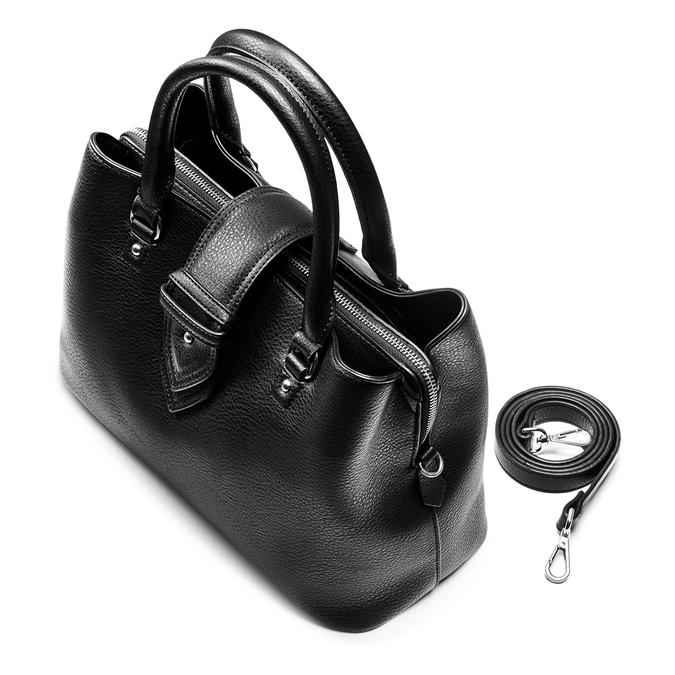 Bag bata, Noir, 961-6216 - 17