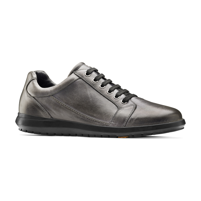 Men's shoes flexible, Gris, 844-3709 - 13