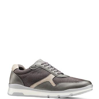 Men's shoes bata, Gris, 849-2145 - 13
